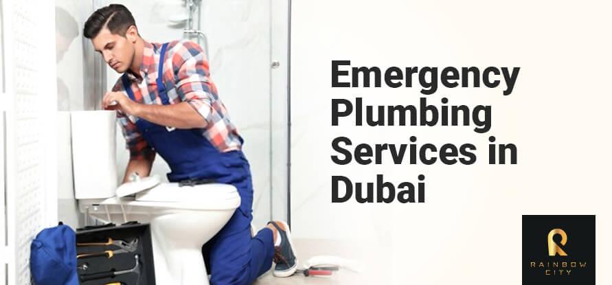 emergency plumbing services in dubai
